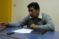 Jaime Pérez Coronel, economista y analista de la Fundación Jubileo.