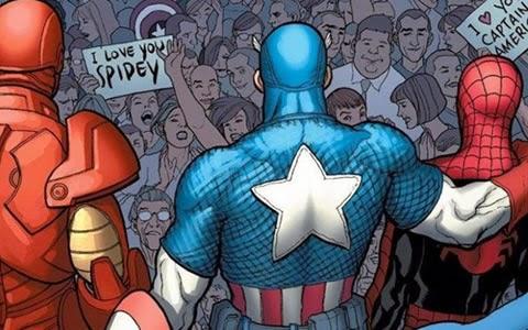 Человек паук в гражданской войне всё