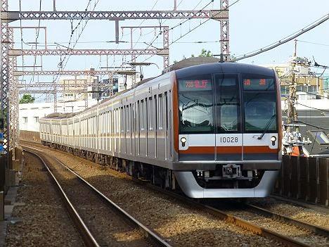 東急東横線 急行 清瀬行き 東京メトロ10000系