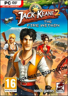 Jack Keane 2 The Fire Within PC Cover