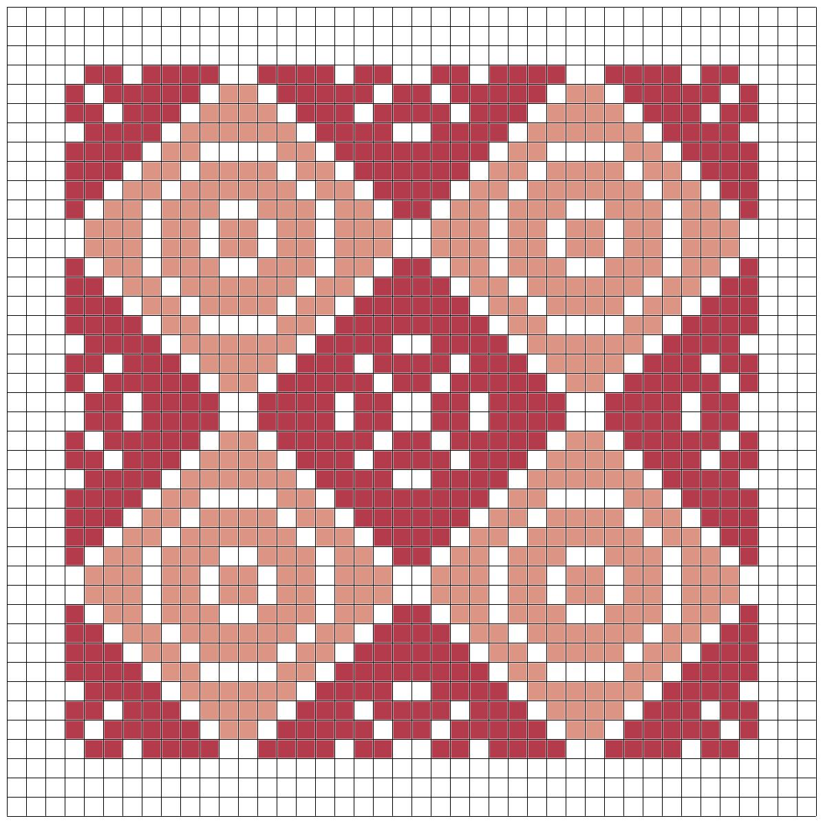 Quilting Patterns Stitching : The world according to agi: Geometric quilt cross stitch pattern