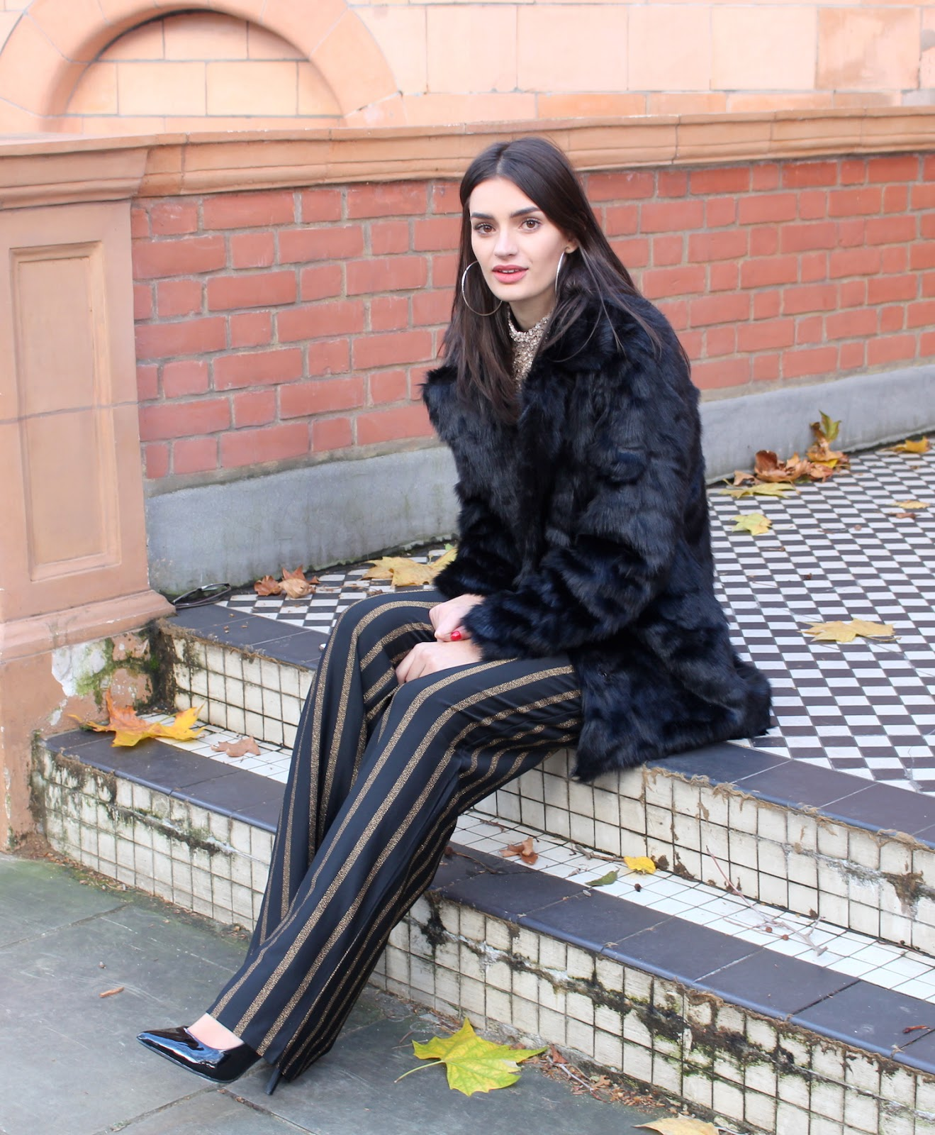 peexo fashion blogger wearing sequins