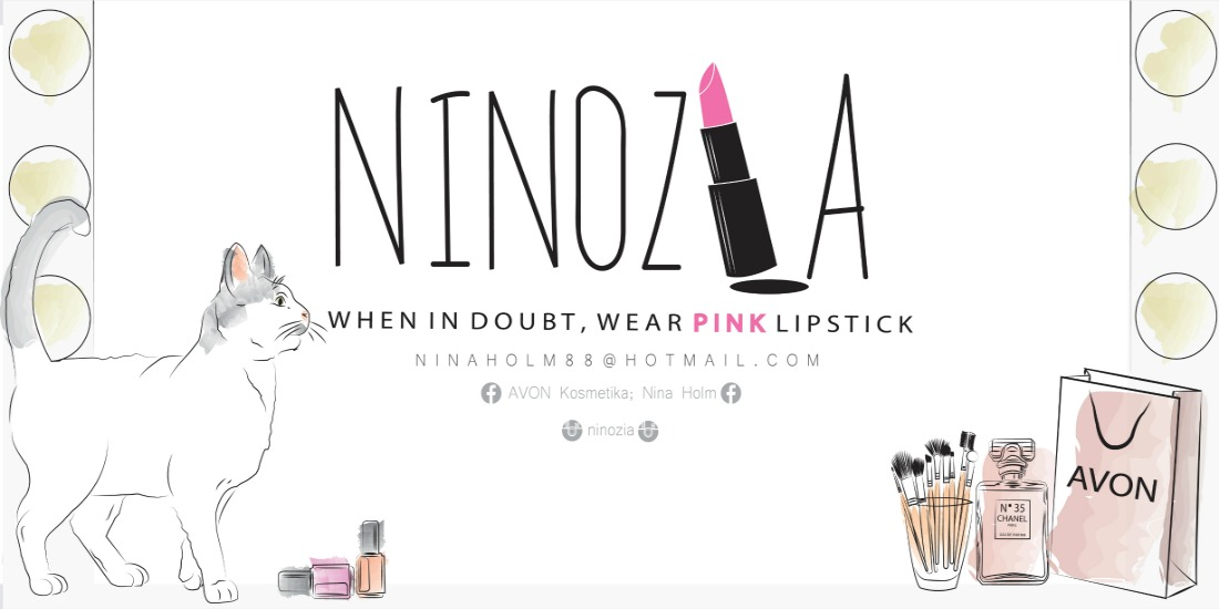 Ninozia - When in doubt, wear pink lipstick
