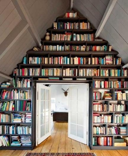 Clever book storage