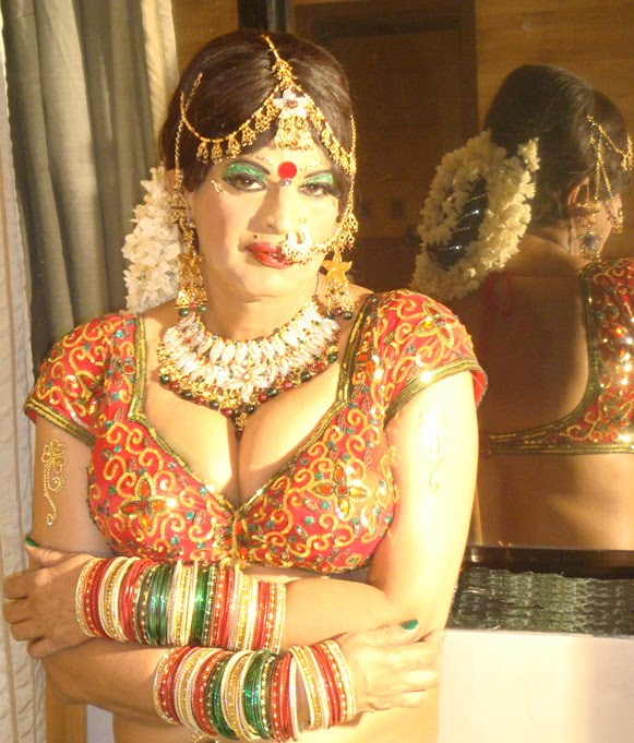 Indian Crossdresser as Dulhan :: Ms. Urvashi , the ultimate Indian