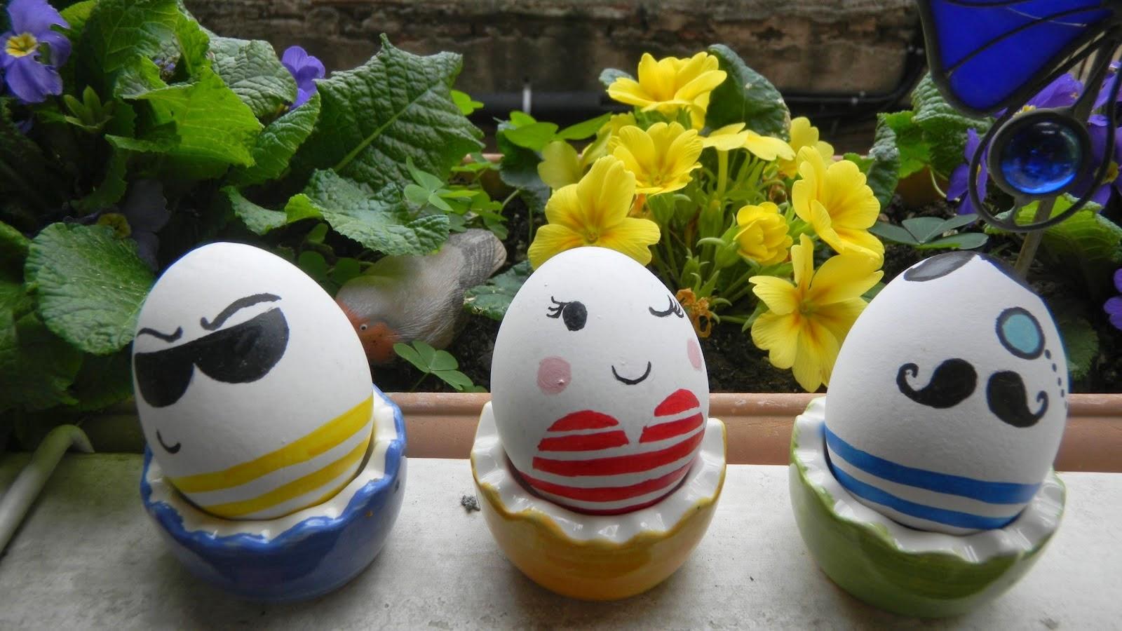 Qtlhd diy hoy decoramos huevos de pascua - Huevos decorados de pascua ...