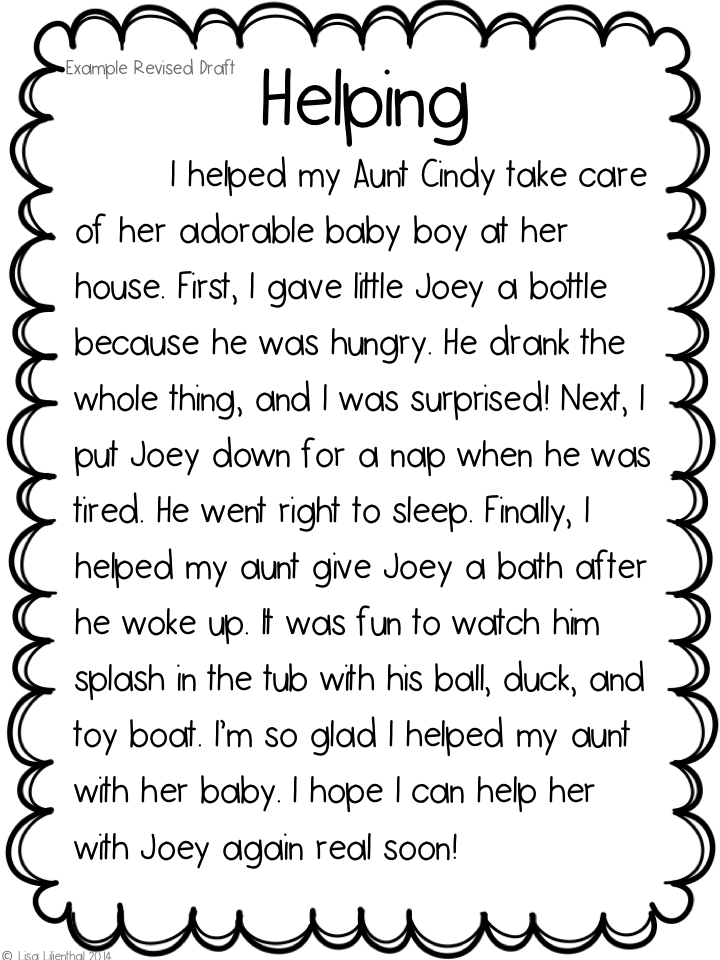 fun narrative writing activities