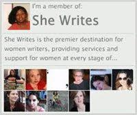 Follow me on She Writes
