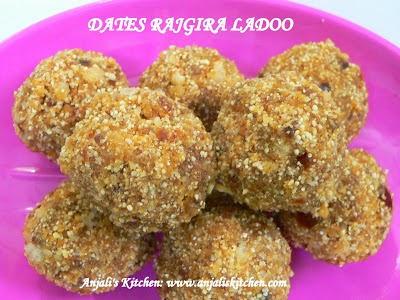 Dates Rajgira Ladoo!!