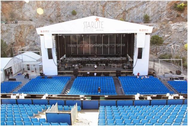 El escenario del Festival Starlite de Marbella