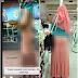Wanita Ini Di Tegur Kerana Berpakaian Seakan B3RB0GEL...??