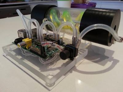 Water cooler para Raspberry Pi