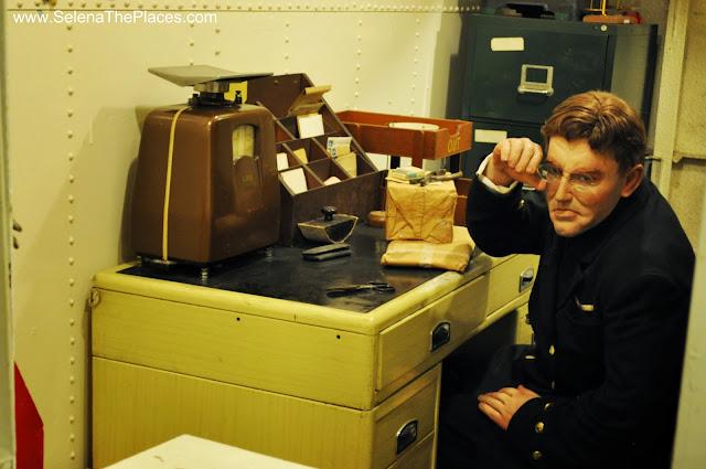 Mail Office HMS Belfast London