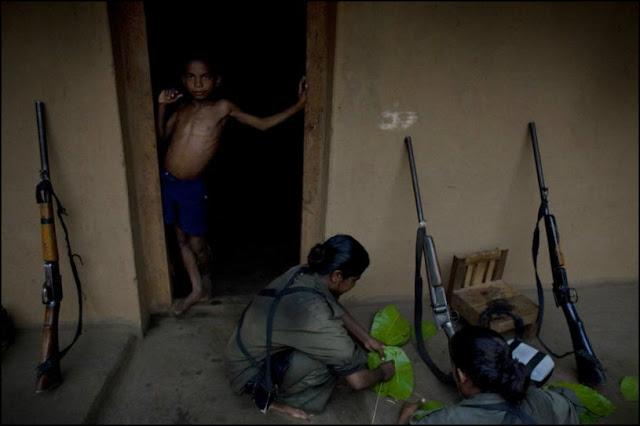naxalite weapons