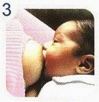 Madre dando leche materna al bebé 3