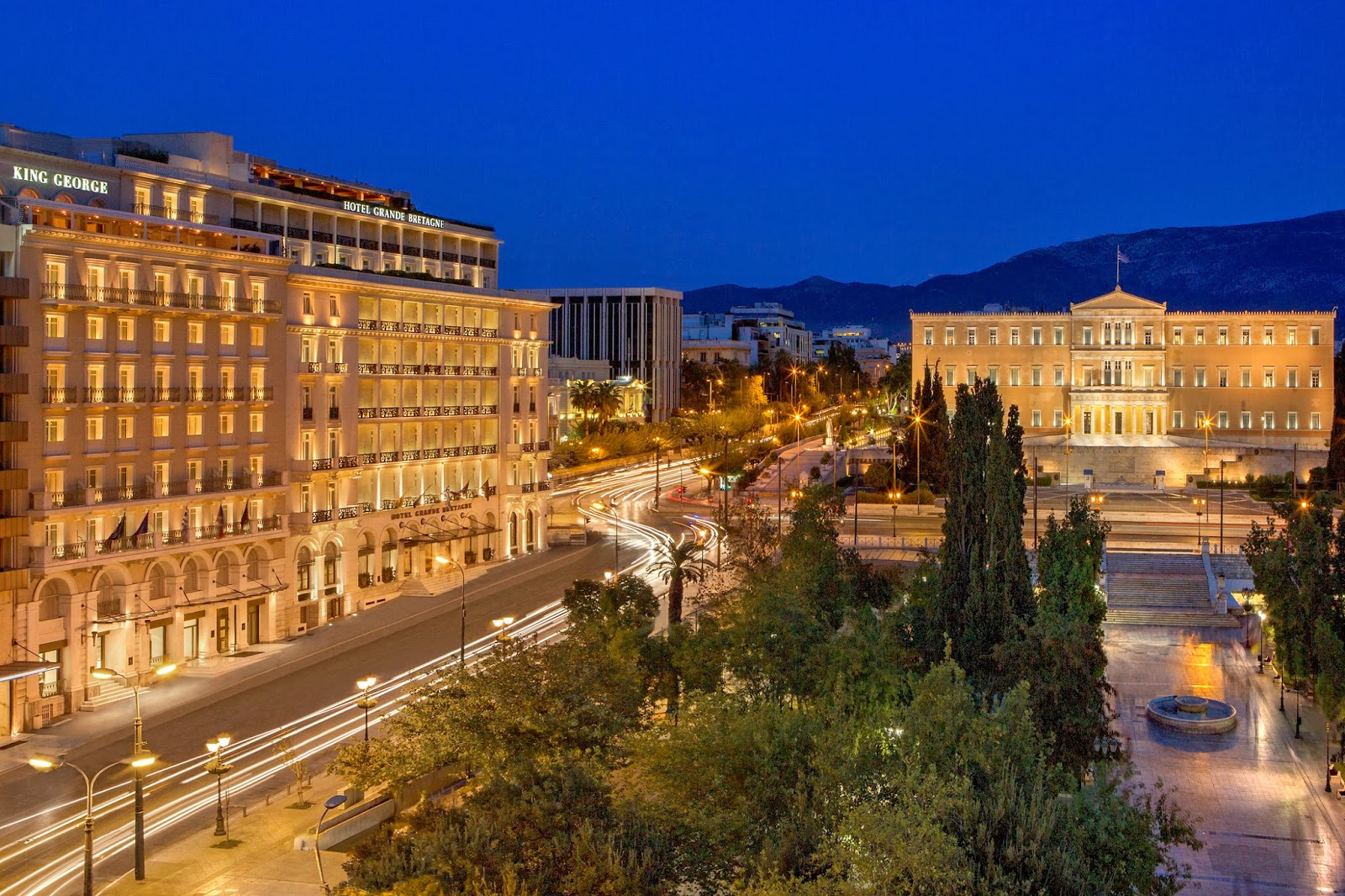 Hotel Bretagne Th Floor Restaurant Athens Greece