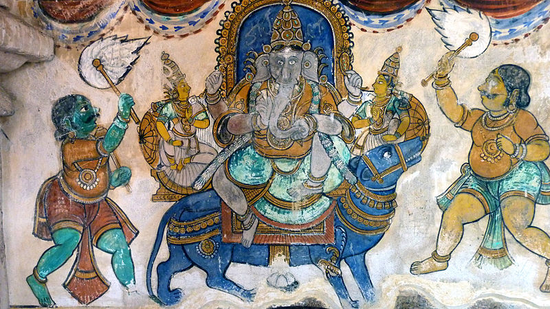 Image result for brihadeeswarar temple paintings