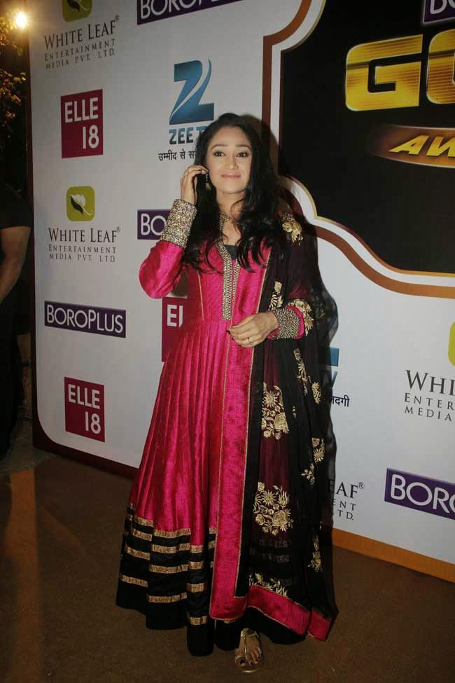 Disha Vakani at 7th Zee Gold Awards 2014