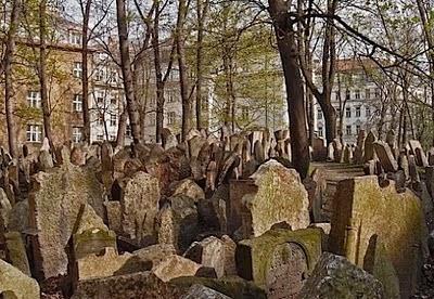 Quartiere ebraico praga - cimitero