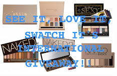 See It, Love It,Swatch It Giveaway!!!