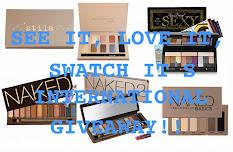 See It, Love It,Swatch It Giveaway!!!
