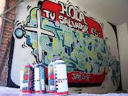 GRAFFITIS DE JESÚS graffity garaje
