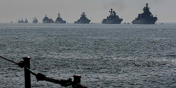 Russia Sends Warships to Mediterranean