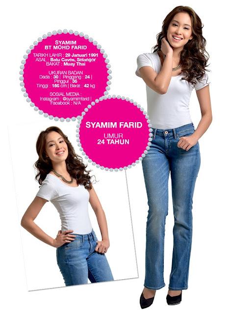 Profil Naib Juara Dewi Remaja 2014/2015 Syamim Farid