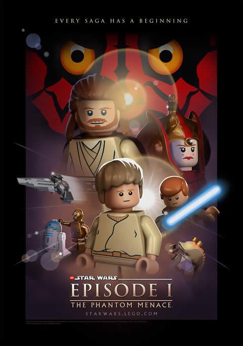Star Wats Lego Poster