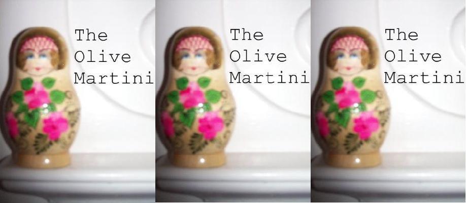 The Olive Martini