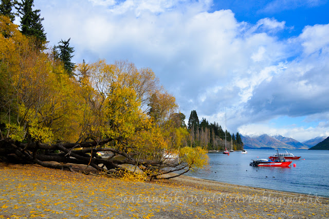 Queenstown Garden, Lake Wakatipu