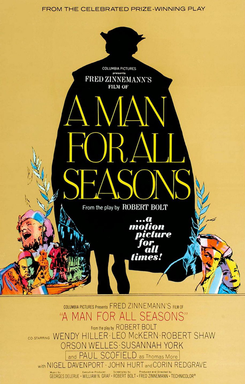 to oppose the king in man for all seasons by robert bolt A man for all season and machiavelli's doctrine: reiteration of history a man for all seasons, a play written by robert bolt, in essence is both a.
