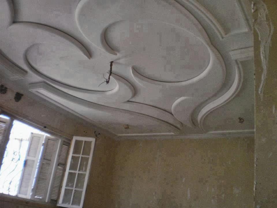 D coration platre marocain simple d coration platre for Decoration plafond platre marocain