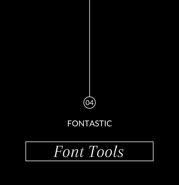 Fontastic 04: Font Tools | yuniquelysweet.blogspot.com
