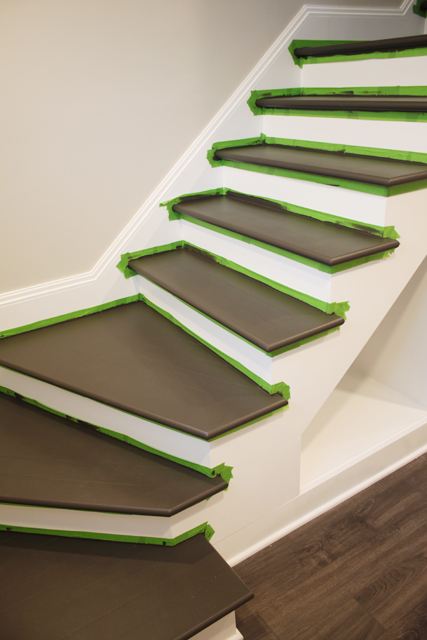 painted basement stairs. Painted Basement Stairs S