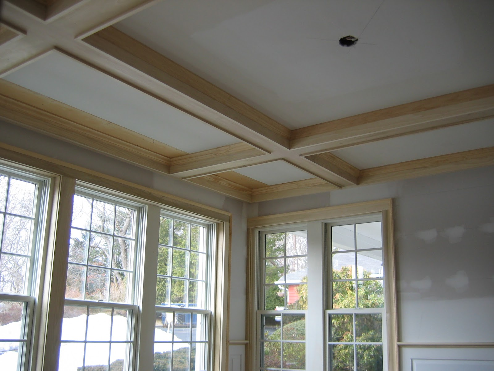 Condon And Fox Project Pages Coffered Ceiling