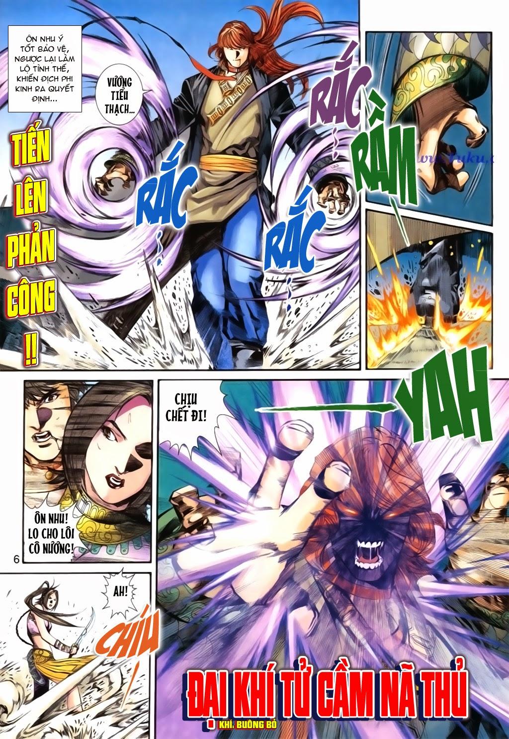 Thuyết Anh Hùng Thùy Thị Anh Hùng chap 16 Trang 7 - Mangak.info