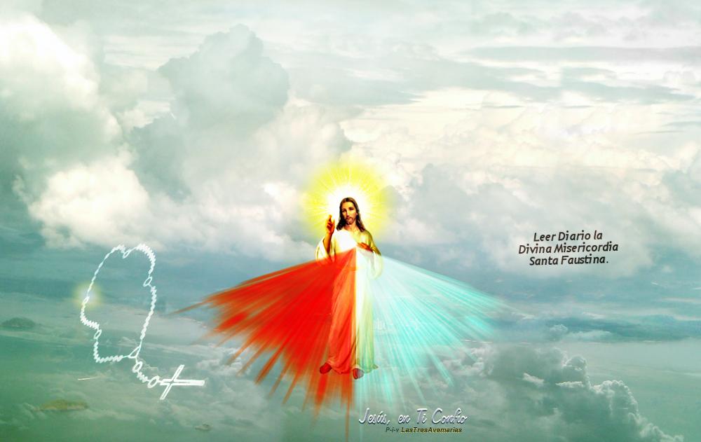 rosario en el aire con jesus