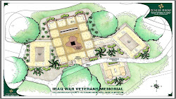 Iraq Veterans Memorial Rendering