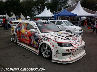 Naruto Waja Autoshow Car
