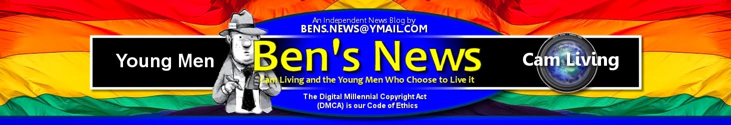 Ben's News of Gay Hoopla, Former Fratmen, USAcamguys,