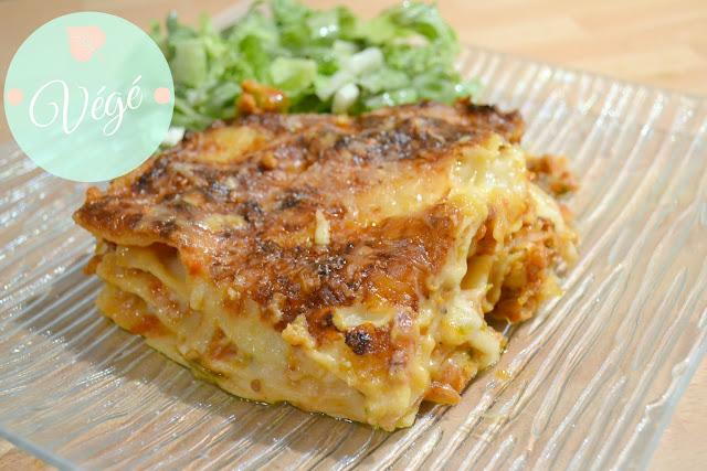 Recette, lasagne, végétarien, steaks de soja, pâtes, cuisine, lasagne sans viande, lasagne végétarienne