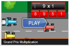 Grand Prix - Multiplicação