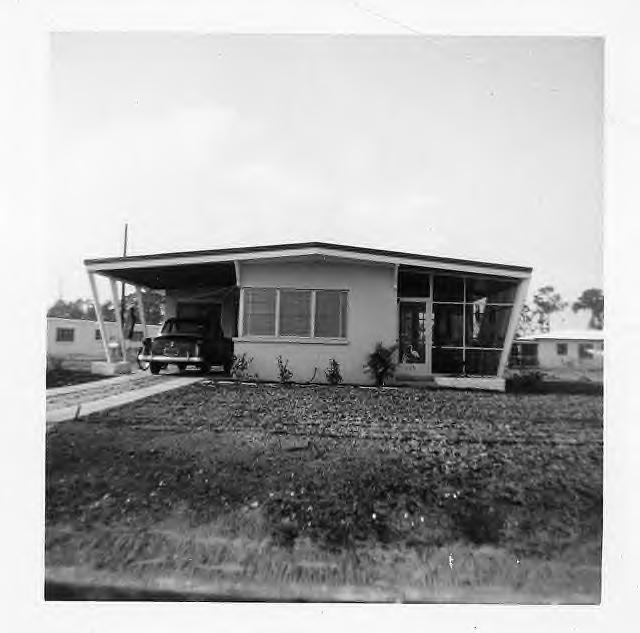 Late 1950s Trailer Park Lot