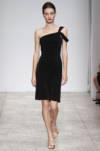 Vestidos de color negro para damas de honor
