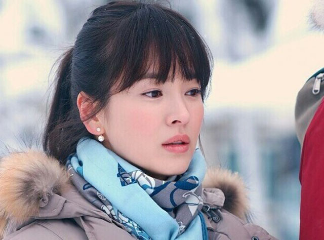 Morgan Make Up Artist: Song Hye Kyo Makeup Look from That ... Song Hye Kyo That Winter The Wind Blows