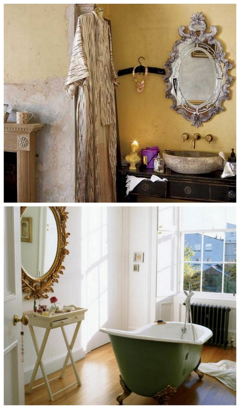 Original Neale Said The Ceiling Was Beautiful And Shaynna Called It An Architectural  Our Picks Custom Rifco Mirror Cabinet And Kado Era Bath From Reece, Timber Bath