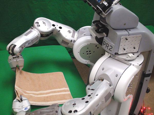 Robot Folding laundry