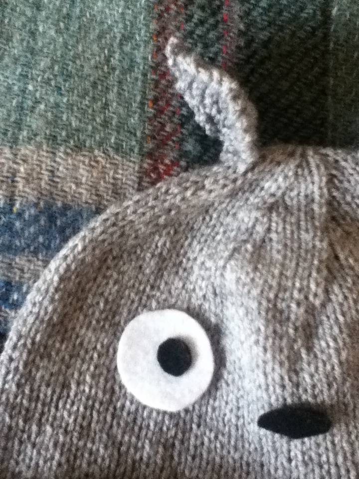Knit Happens Off The Needles Finally The Totoro Hat