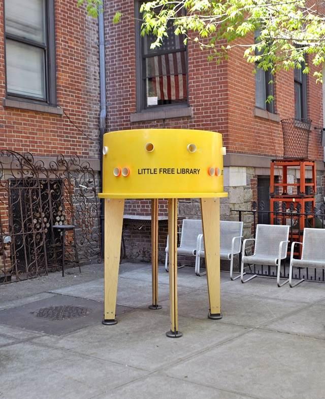 perpustakaan kecil percuma new york